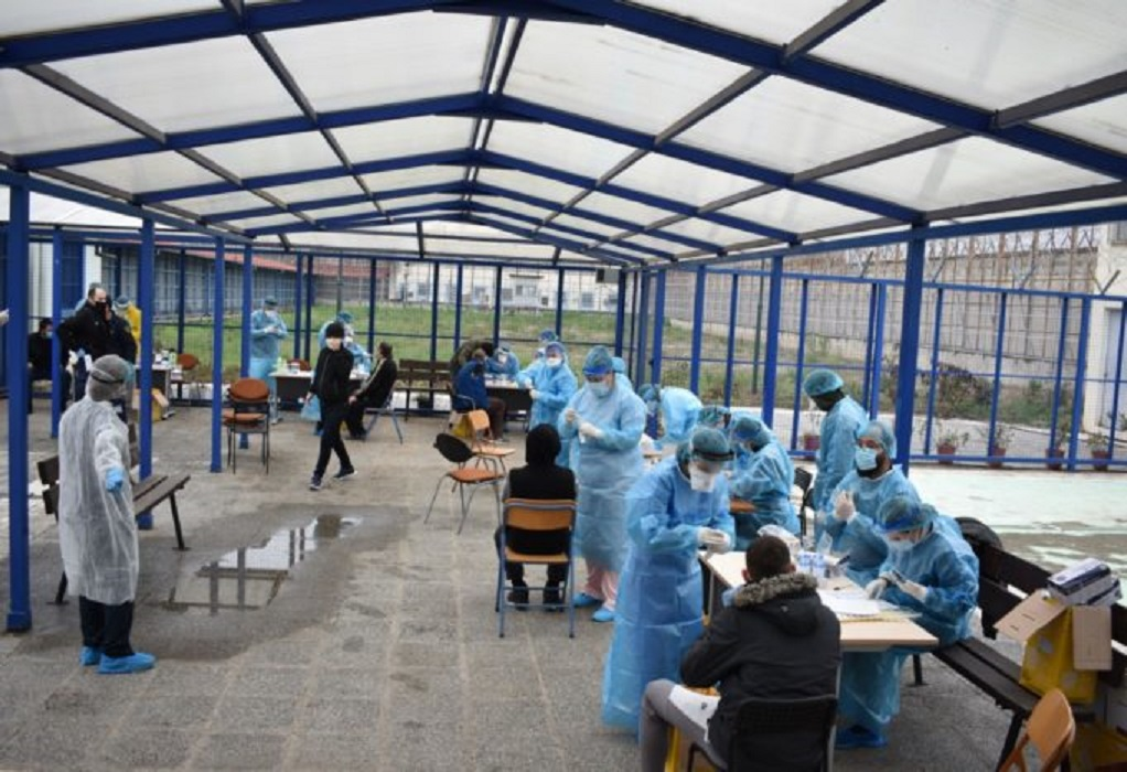 Κορωνοϊός-Λάρισα: Σε καραντίνα 52 τρόφιμοι των φυλακών