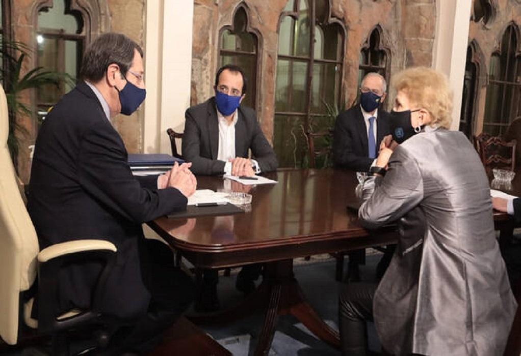 Αυτοί είναι οι νέοι σύμβουλοι του Αναστασιάδη για το Κυπριακό