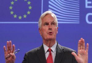 Μπαρνιέ: Δεν υπάρχει ακόμη συμφωνία με το Ηνωμένο Βασίλειο