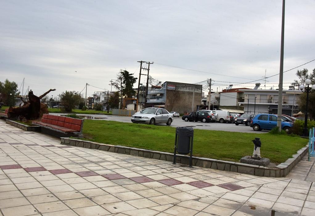 Κατασκευή χώρου στάθμευσης στα Νέα Μουδανιά