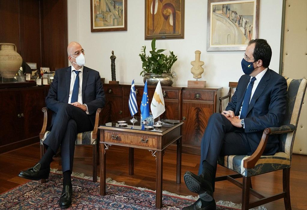 Δένδιας: Ανάγκη για έμπρακτο σεβασμό από όλους των αρχών του ΟΑΣΕ