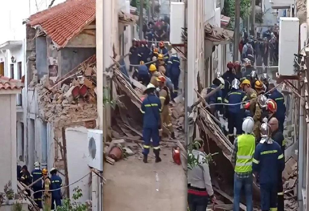 Σεισμός στη Σάμο – Κατεδαφίζεται το κτήριο της τραγωδίας