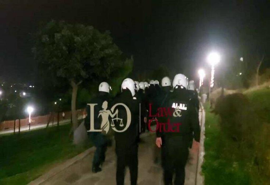 Άλιμος: Μεγάλη επιχείρηση της αστυνομίας στο κορωνοπάρτι (VIDEO)
