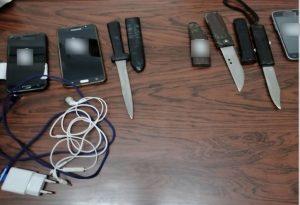 Κορυδαλλός: Αιφνίδια έρευνα σε κελιά – Βρέθηκαν πέντε αυτοσχέδια μαχαίρια