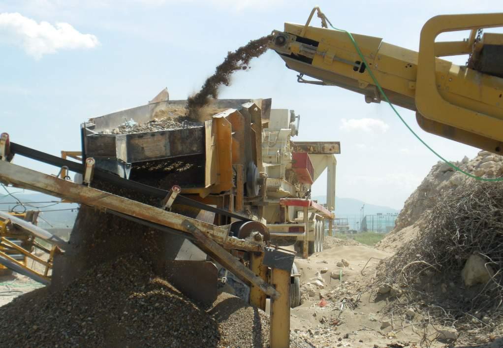 ΑΝΑΚΕΜ: Διαχειρίστηκε 2.500.000 τόνους μπάζων σε ένα χρόνο!