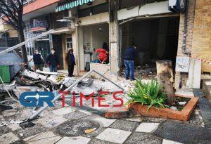 Θεσσαλονίκη: Έκρηξη σε ΑΤΜ – Ζημιές σε καταστήματα (ΦΩΤΟ+VIDEO)