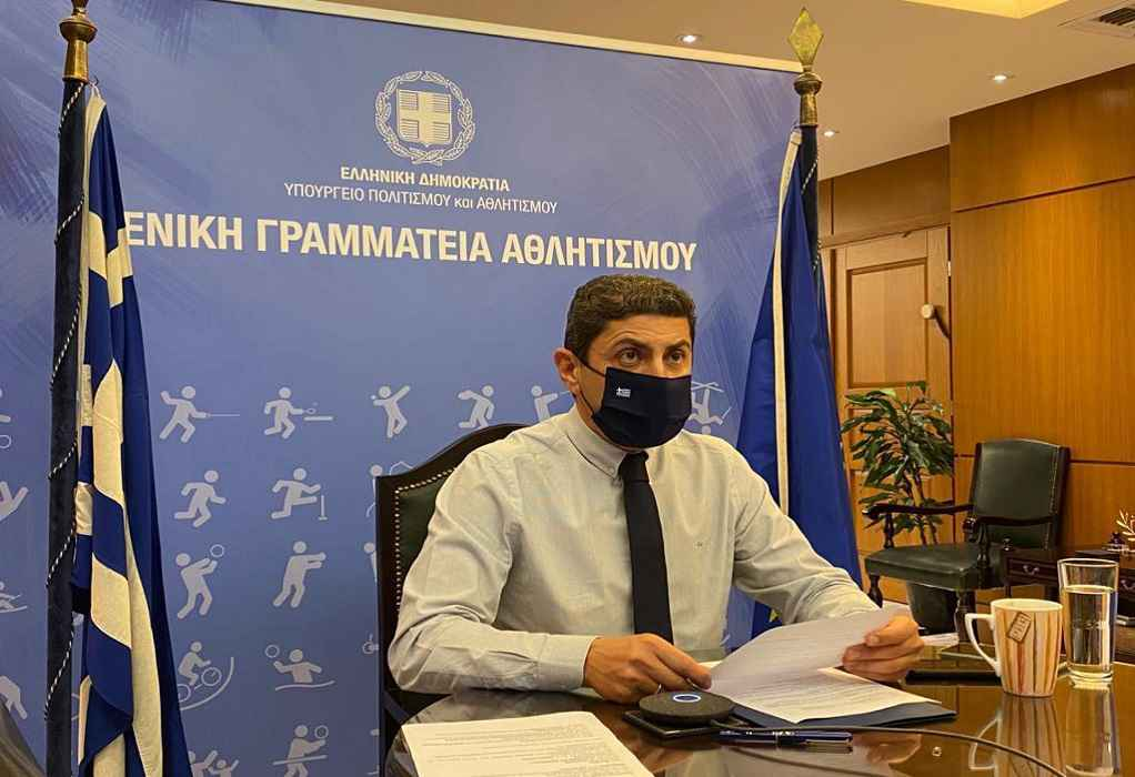 Συμμετοχή Λ. Αυγενάκη στην άτυπη τηλεδιάσκεψη των Υπουργών Αθλητισμού ΕΕ