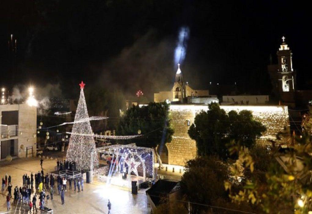 Χωρίς τουρίστες τα Χριστούγεννα στη Βηθλεέμ