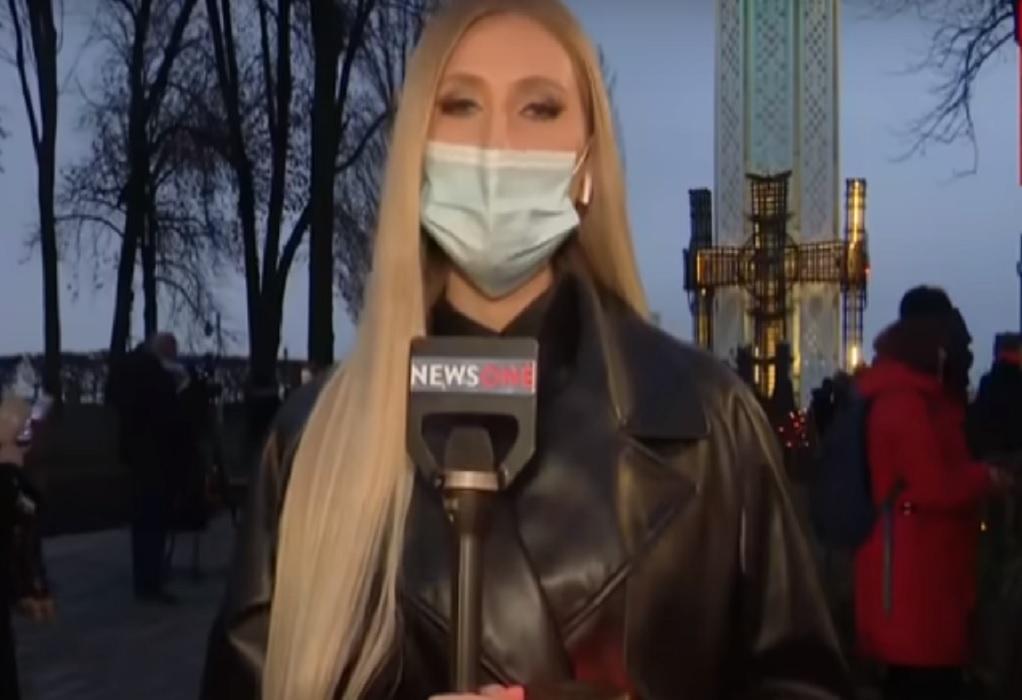Ουκρανία: Επίθεση σε δημοσιογράφο on camera (VIDEO)