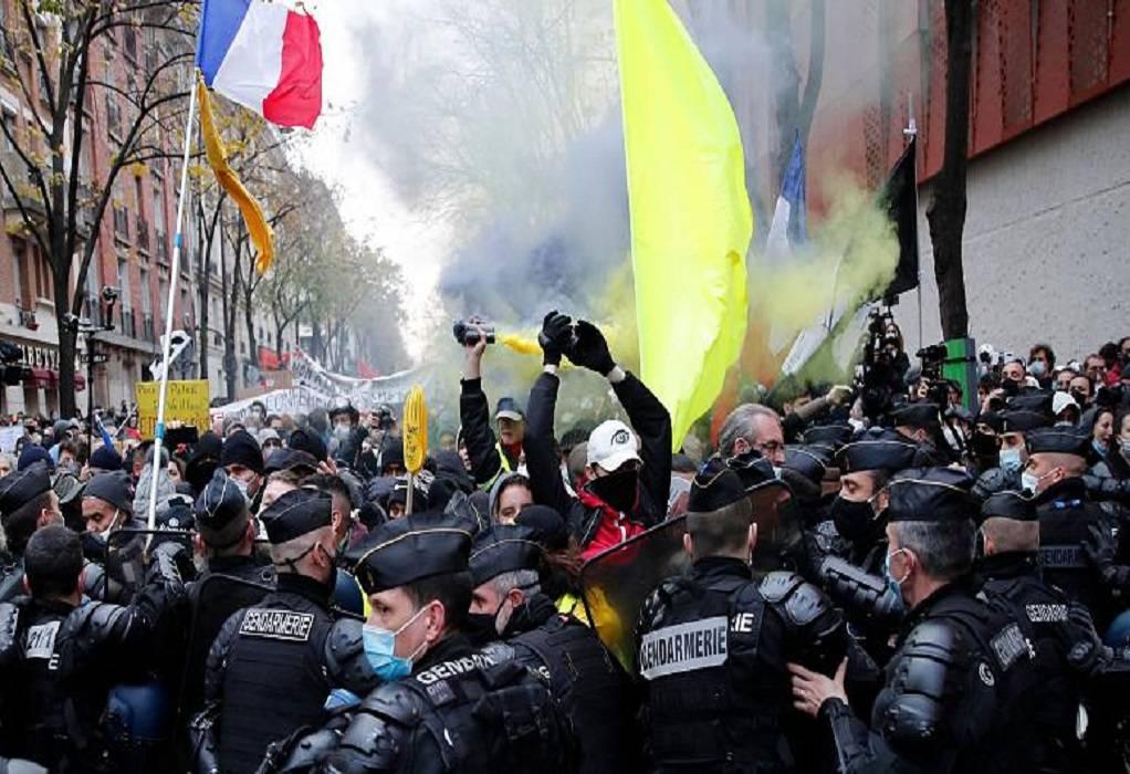 Γαλλία: Δακρυγόνα σε διαδήλωση κατά της αστυνομικής βίας