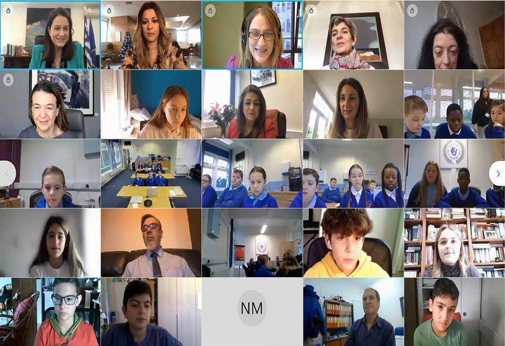 Διαδικτυακός διάλογος Ελλήνων – Βρετανών μαθητών