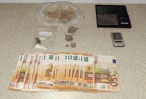 Συνελήφθη άντρας για διακίνηση ναρκωτικών