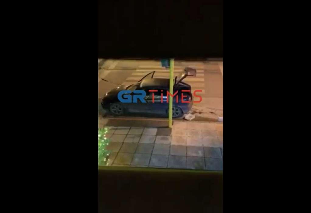 Θεσσαλονίκη: Καρέ- καρέ η διάρρηξη καταστήματος (VIDEO)
