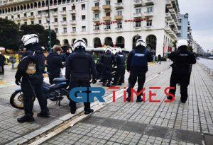 Έλεγχοι της ΕΛ.ΑΣ. στο κέντρο της Θεσσαλονίκης – Μία προσαγωγή (ΦΩΤΟ-VIDEO)