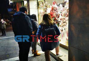 Θεσσαλονίκη: Χαμός στα εποχικά από την 1η μέρα (ΦΩΤΟ)