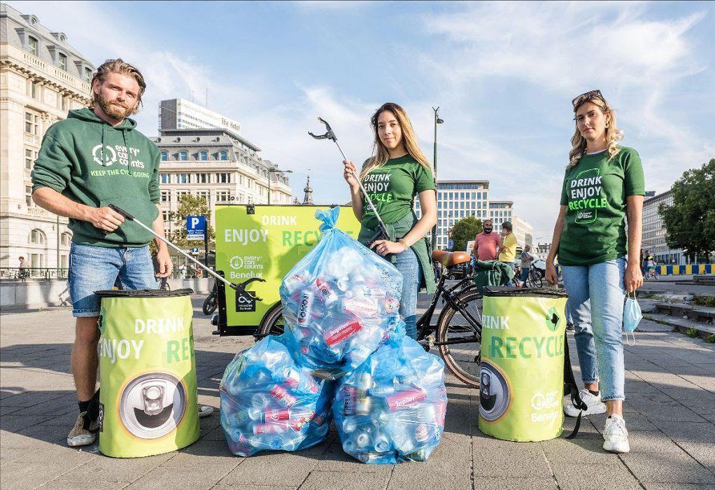 Έρευνα: Το 96% των Ελλήνων ζητά περισσότερους κάδους ανακύκλωσης σε δημόσιους χώρους