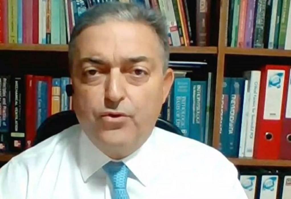 Βασιλακόπουλος: Μία είναι η λύση για την πανδημία, το εμβόλιο (ΗΧΗΤΙΚΟ)