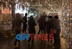 Ιωάννινα: Τα Χριστούγεννα φέρνουν… συνωστισμό (ΦΩΤΟ)