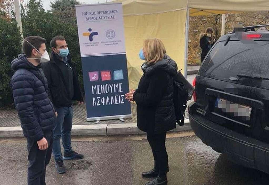 Drive through test κορωνοϊού από Δευτέρα στο Δήμο Καλαμαριάς