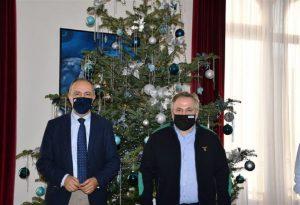 Συνάντηση Κ. Μανδαλιανού με τον Θ. Καράογλου