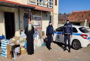 Δυτ. Μακεδονία: Προσφορά αστυνομικών σε ιδρύματα