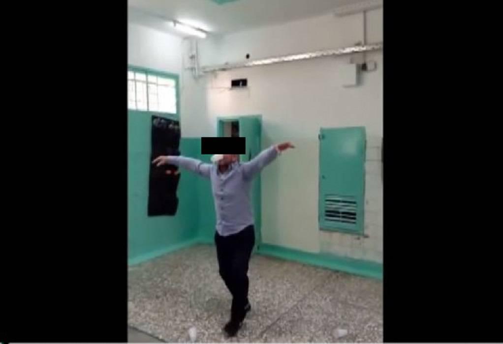 Πάρτι έκαναν κρατούμενοι στον Κορυδαλλό (VIDEO)