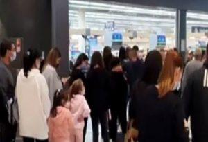 Κύπρος-Covid-19: Έτρεξαν για ψώνια μετά την ανακοίνωση των μέτρων (VIDEO)