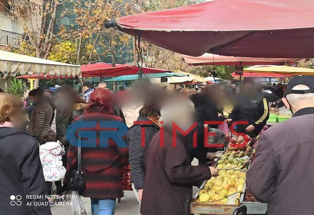 Λαϊκές αγορές: Τι λένε για την επίσκεψη Χαρδαλιά
