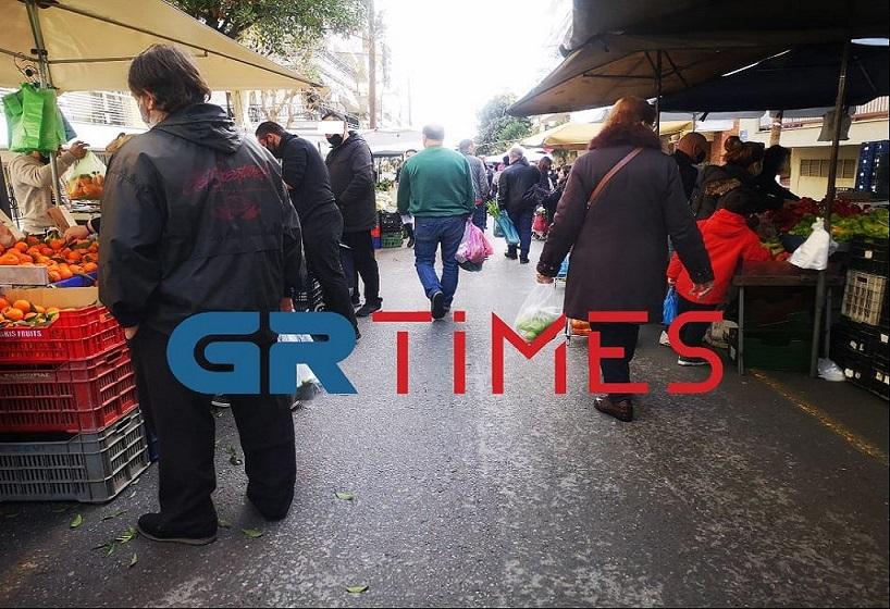 Νίκη για τις λαϊκές αγορές: Επαναλειτουργούν από αύριο (27/2) σε Χαλκιδική και Εύβοια