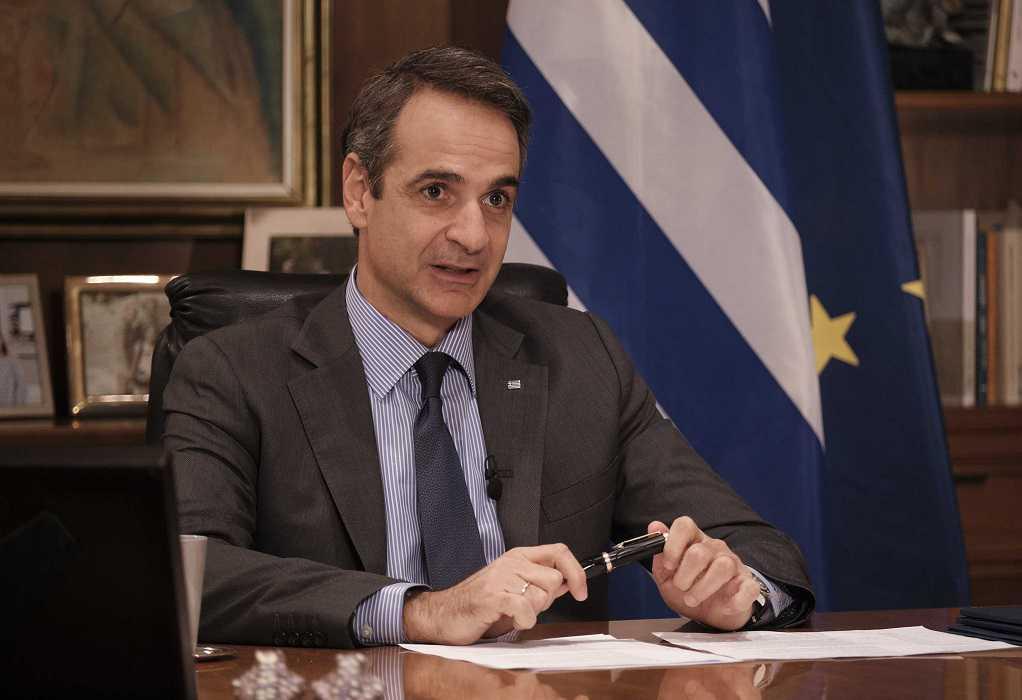Στην τηλεδιάσκεψη της Επιτροπής «Ελλάδα 2021» αύριο ο Κ. Μητσοτάκης