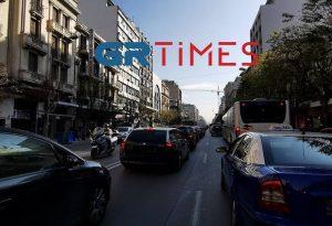 Ποιος κορωνοϊός; Μέχρι και μποτιλιάρισμα στο κέντρο της Θεσσαλονίκης (ΦΩΤΟ)