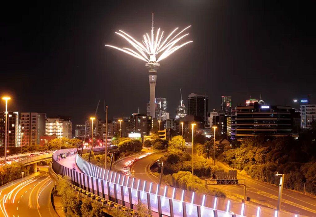 Η Νέα Ζηλανδία η πρώτη χώρα που υποδέχθηκε το 2021 (VIDEO)