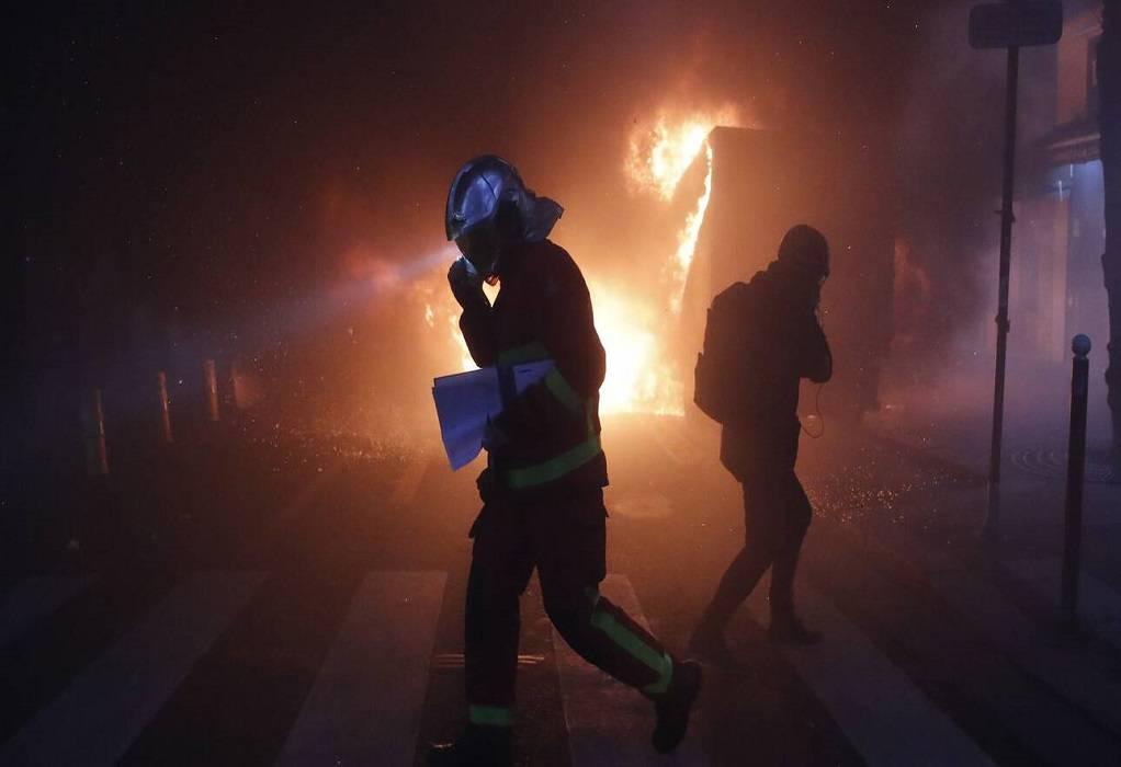 Γαλλία: Δεκάδες συλλήψεις κατά τη διάρκεια διαδήλωσης