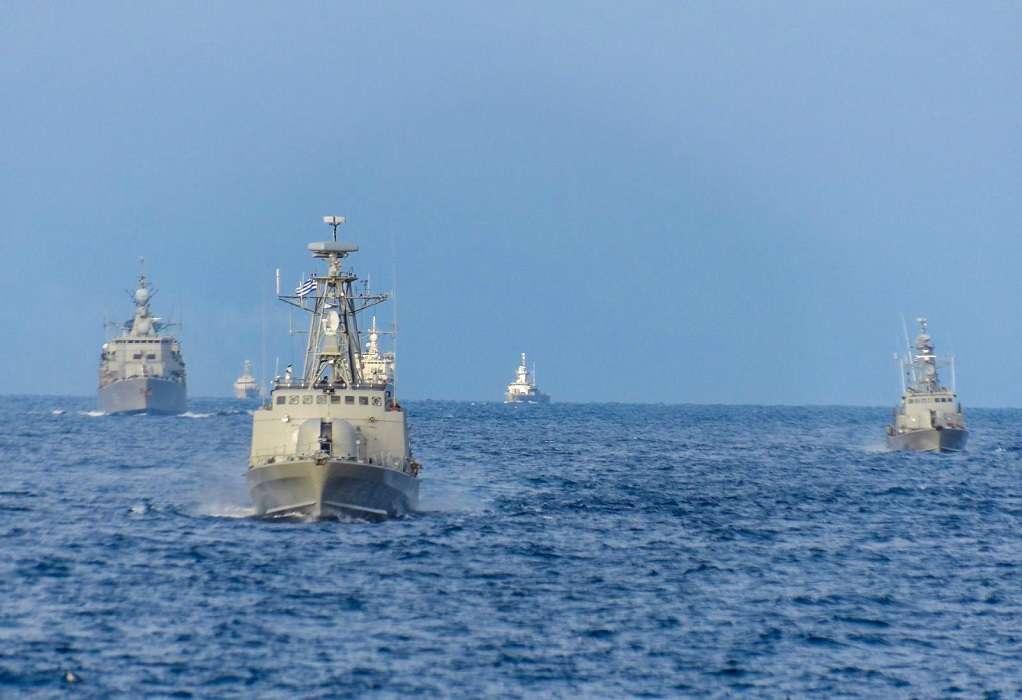 Ασκήσεις Πολεμικού Ναυτικού στο Μυρτώο και το βόρειο και νότιο Κρητικό πέλαγος