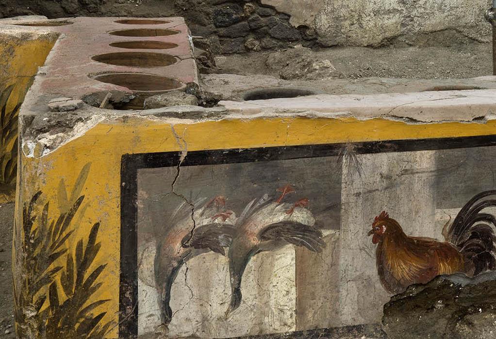 Πομπηία: Οι αρχαιολόγοι ανακάλυψαν θερμοπωλείο από το 79 μ.Χ.