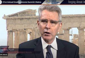 Πάϊατ: Ισχυρή η Ελλάδα, κτίζει διεθνείς συμμαχίες