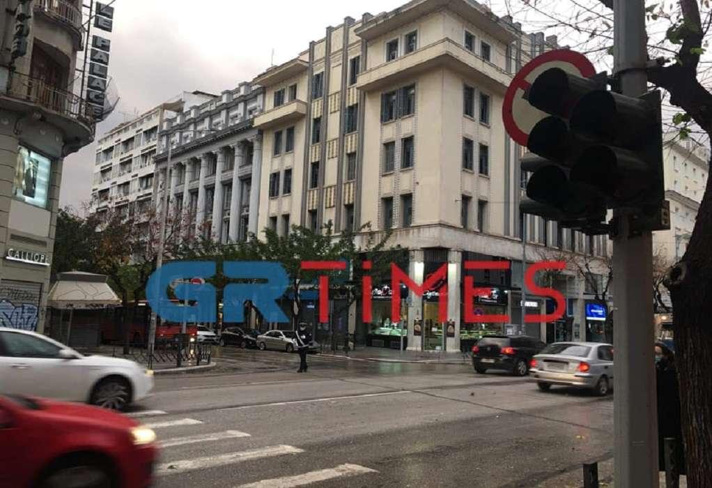 Χωρίς φανάρια το κέντρο της Θεσσαλονίκης (ΦΩΤΟ)