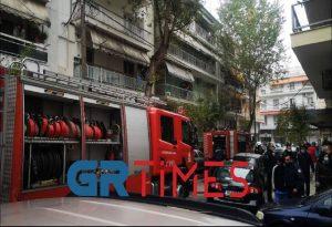 Θεσσαλονίκη: Απανθρακωμένο το παιδί από τη φωτιά σε διαμέρισμα (ΦΩΤΟ-VIDEO)
