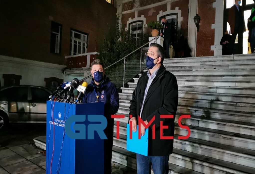 Θεσσαλονίκη: Σύσκεψη  για την πανδημία την Πέμπτη με τη συμμετοχή Χαρδαλιά και Χρυσοχοΐδη