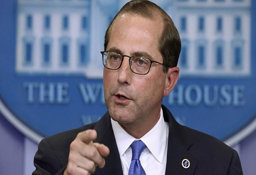 ΗΠΑ: Παραιτήθηκε ο υπουργός Υγείας Άλεξ Αζάρ