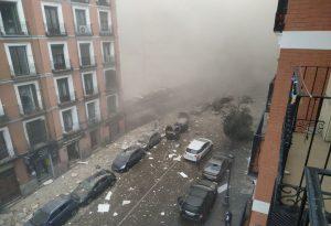 Έκρηξη στην Μαδρίτη: Τουλάχιστον 3 νεκροί, αδιευκρίνιστος αριθμός τραυματιών