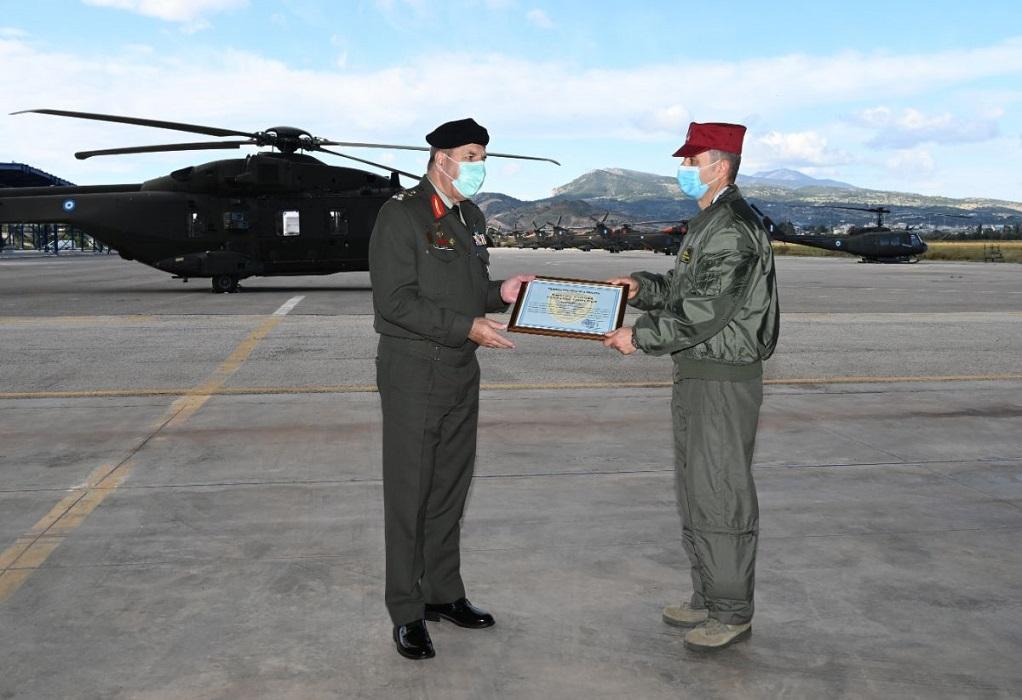 Επίσκεψη Α/ΓΕΣ στο 2ο Συγκρότημα Αεροπορίας Στρατού και στο ΚΕΕΔ