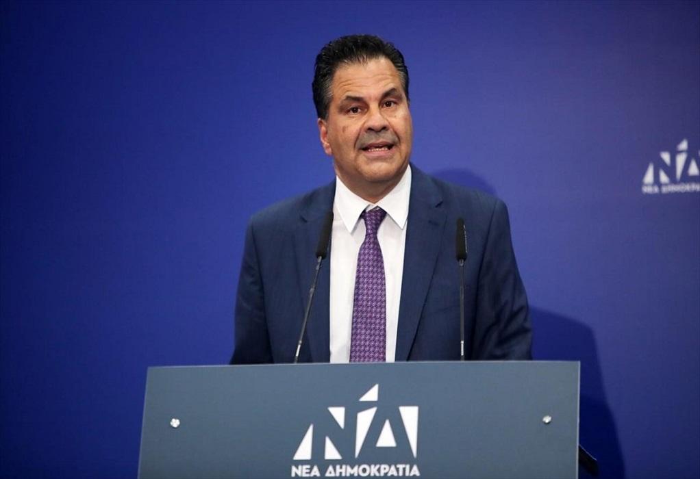 Στεργίου: Με τον επιλεκτικό ανθρωπισμό ο ΣΥΡΙΖΑ ανοίγει τον ασκό του Αιόλου (ΗΧΗΤΙΚΟ)