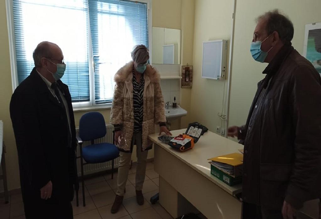 Τσακίρης: Ενισχύουμε τη λειτουργία εμβολιαστικών κέντρων στον δήμο Ωραιοκάστρου