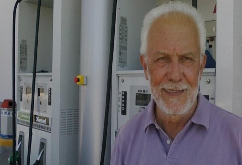 Πέθανε ο πρώην πρόεδρος των βενζινοπωλών Δημήτρης Μακρυβέλιος
