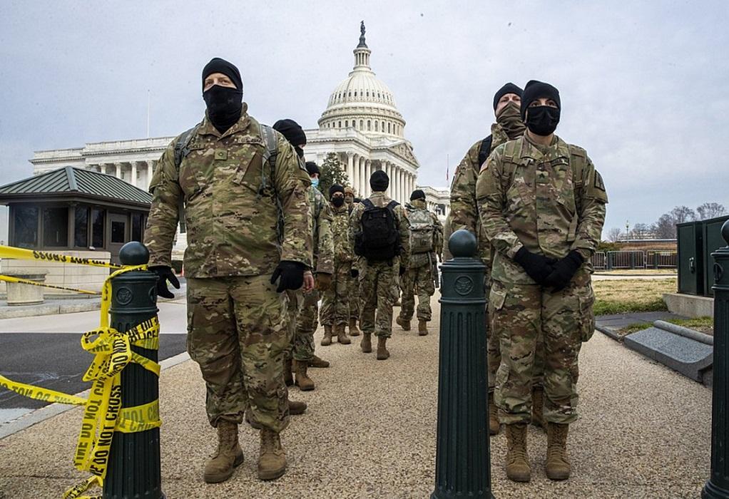 Ουάσινγκτον: Η Εθνοφρουρά έλαβε εντολή να φέρει οπλισμό