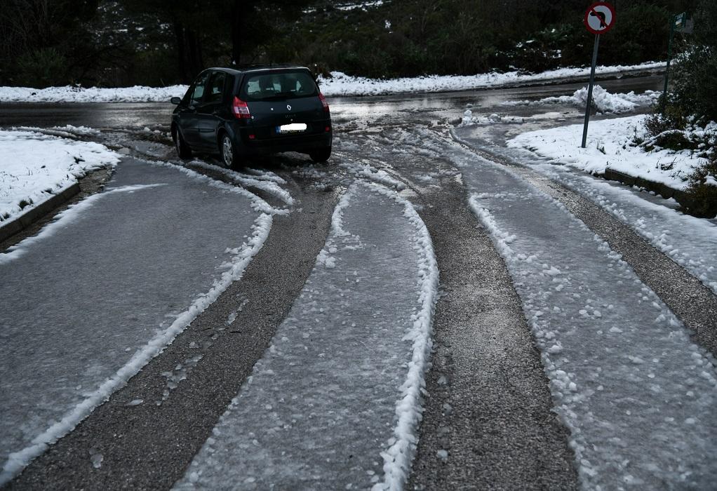 Κ. Μακεδονία: Οι δρόμοι που παραμένουν κλειστοί λόγω κακοκαιρίας