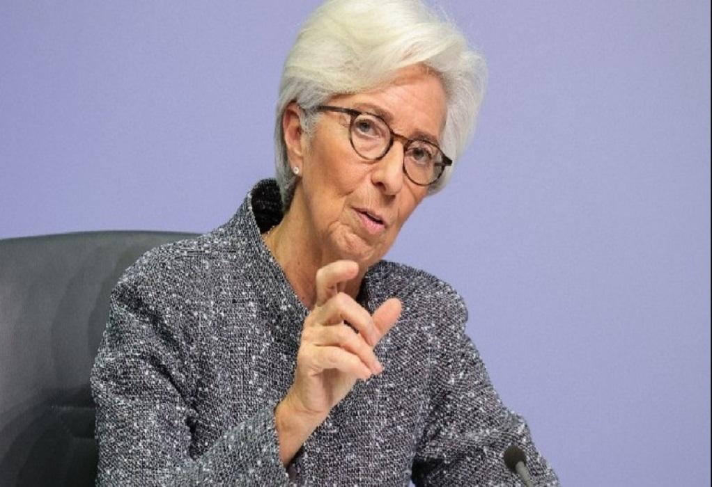 Λαγκάρντ: Η αύξηση των καθαρών αγορών ομολόγων μπορεί να χρειαστεί κάποιο χρόνο