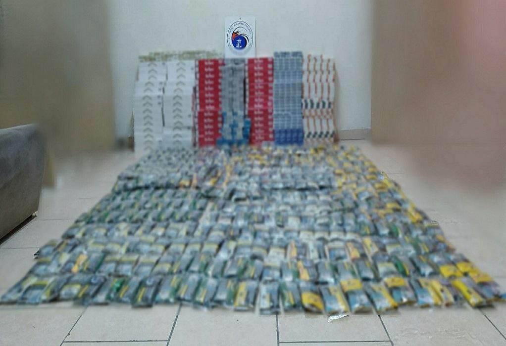 Πτολεμαΐδα: Έκρυβαν 4.407 πακέτα λαθραία τσιγάρα
