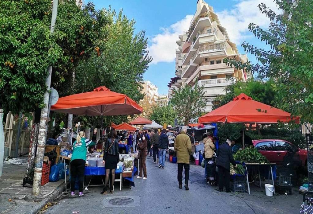 Λαϊκές αγορές: Επαναλειτουργούν από σήμερα σε Χαλκιδική και Εύβοια